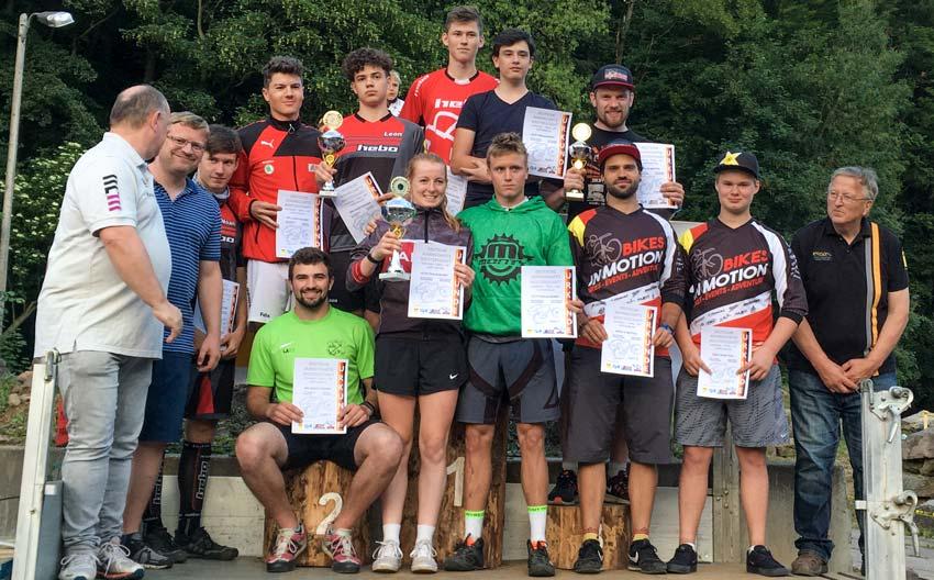 """Deutsche Meisterschaft 26"""" Gräfenroda - Siegerehrung Mannschaften"""