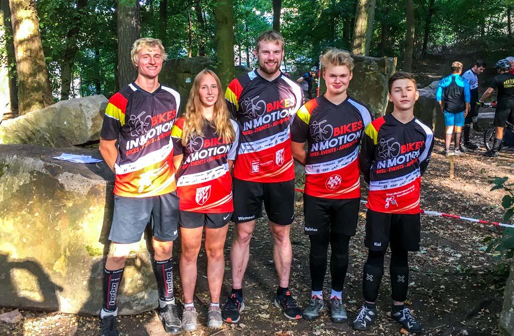 Team Bikes in Motion bei der NDM in Melsungen